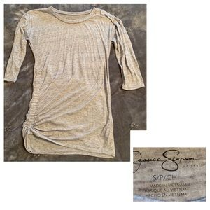 Jessica Simpson gray size Small maternity top.